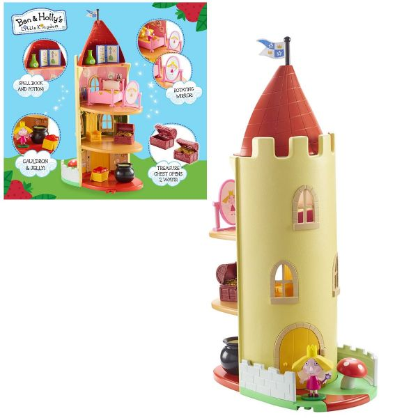 Ben And Holly's Little Kingdom Thistle Castle Toy Playset Includes Holly Figure
